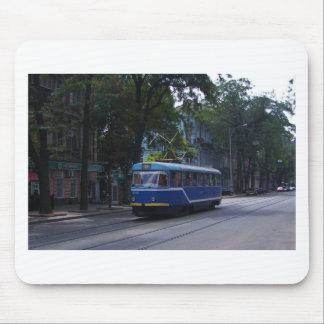 Tranvía en la Ucrania Mousepads