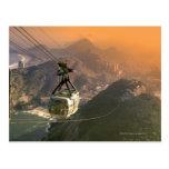 Tranvía en Río de Janeiro, el Brasil Tarjetas Postales