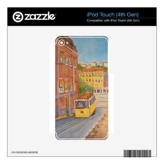 Tranvía iPod Touch 4G Skins