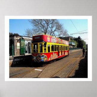 Tranvía reservada en la estación de Colyton Posters