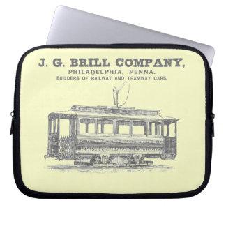 Tranvías de Brill Company y coches 1860 del tranví Manga Portátil