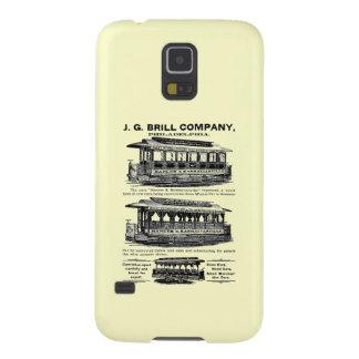 Tranvías y carretillas de Brill Company Funda Para Galaxy S5