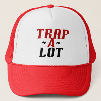 trap a lot records hat alternate logo