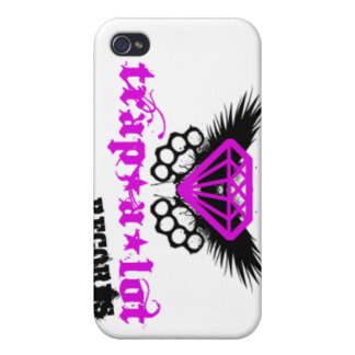 trap a lot records log0 main iPhone 4 case
