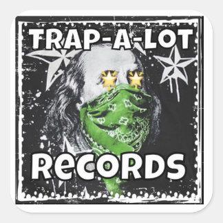 trap a lot stickers ben frank logo