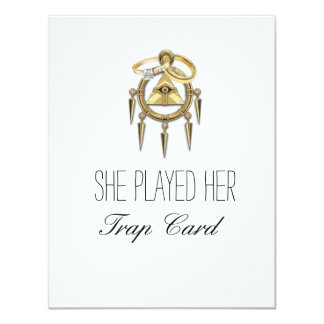 Trap Card Engagement Cards