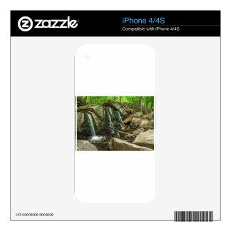 Trap Falls at Willard Brook State Park iPhone 4S Decals