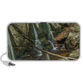 Trap Falls at Willard Brook State Park iPod Speaker