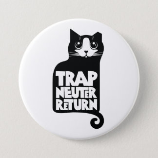 Trap, Neuter, Return feral cat care large button
