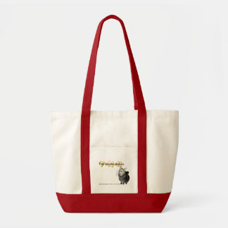 """Trap, Neuter, Return"" tabby cat tote"