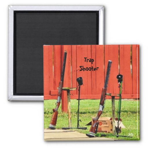 Trap Shooter Magnet