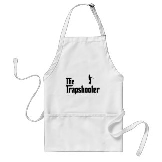 Trap Shooting Adult Apron