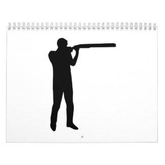 Trap shooting calendar