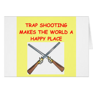 trap shooting card