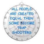 trap shooting dartboard