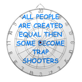 trap shooting dartboard