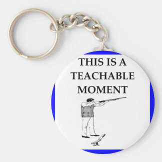 trap shooting keychain