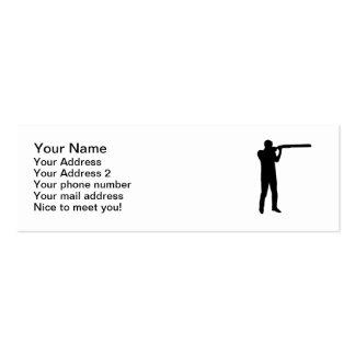 Trap shooting mini business card