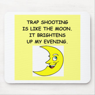 trap shooting mouse pad