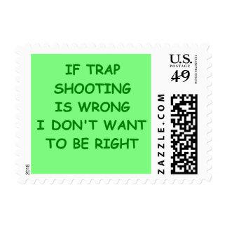 trap shppting stamps