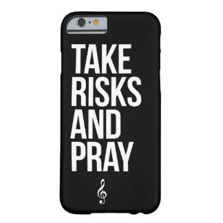 TRAP - Take Risks And Pray Slim Phone Case