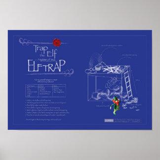 Trap the Elf™ aka Leprechaun - Official Elf Trap Posters