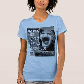Trapacería del niño del palo camisetas