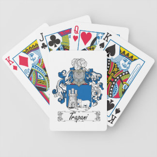 Trapani Family Crest Bicycle Card Deck