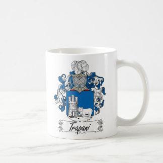 Trapani Family Crest Mugs