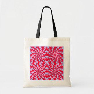 Traped - Op Art Tote Bag