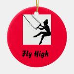 trapeze_artist, mosca alta adorno de reyes