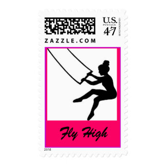 trapeze artist postage