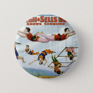 Trapeze Artists / Forepaugh & Selle Brothers Button