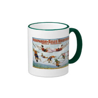 Trapeze Artists / Forepaugh & Selle Brothers Ringer Mug