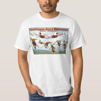 Trapeze Artists / Forepaugh & Selle Brothers T-shirt