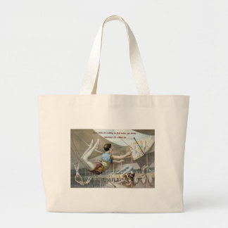 Trapeze Artists Large Tote Bag