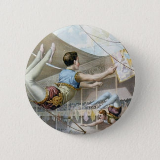 Trapeze Artists  Pinback Button
