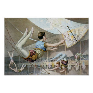 Trapeze Artists  Poster