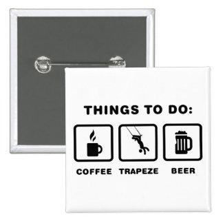 Trapeze Pinback Button