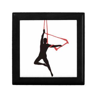 Trapeze Swing Aerialists Keepsake Box