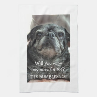 "¿Trapo de la toalla de cocina de Bumblesnot ""mi na"
