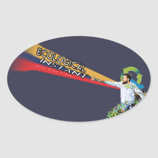 Trapp Oval Oval Sticker