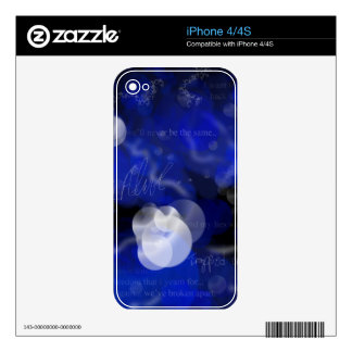 Trapped Alive phone skin iPhone 4 Decal
