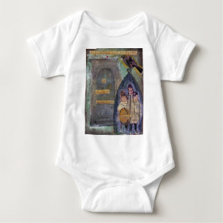 trapped baby bodysuit