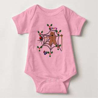 Trapped Gingerbread Baby Bodysuit