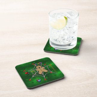 Trapped Gingerbread Beverage Coaster