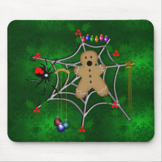 Trapped Gingerbread Mouse Pads