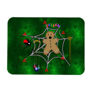 Trapped Gingerbread Rectangular Photo Magnet
