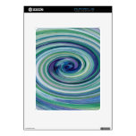 Trapped in a Wave iPad Skin