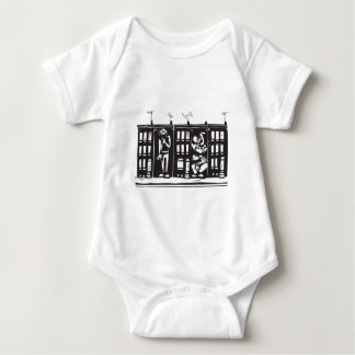 Trapped in Ghetto Baby Bodysuit